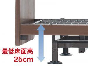 低床25cm(昇降タイプ)