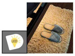 LEDフットランプ付